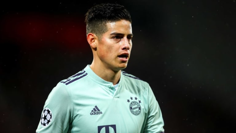 James Rodriguez Opens Door to Real Madrid Return After 2-Year Bayern Munich Loan