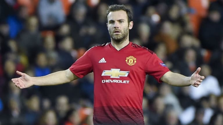 Barcelona Looking to Snap Up Juan Mata From Manchester United on Free Deal This Summer