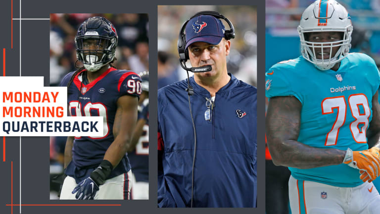 Texans Sit at the Center of Two Seismic Trades on a Frenzied Saturday in the NFL