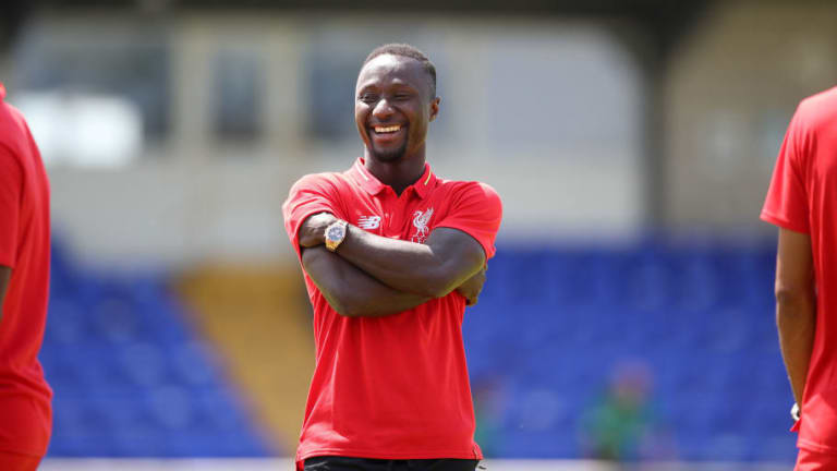 Naby Keita Praises 'Big Brother' Mohamed Salah for Helping Him Settle at Liverpool