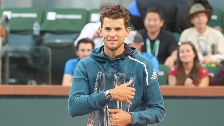 Dominic Thiem Beats Roger Federer to Secure First Masters 1000 Title at Indian Wells