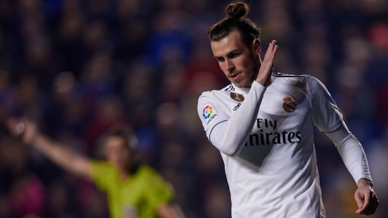 Levante 1-2 Real Madrid: Report, Ratings & Reaction as Bale's Penalty Seals Win for Los Blancos