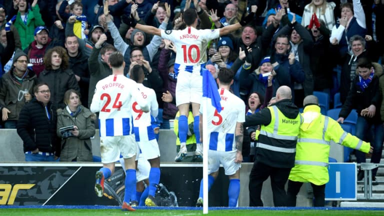 Brighton 1-0 Huddersfield: Report, Ratings & Reaction as Seagulls Secure Vital Win Over Terriers