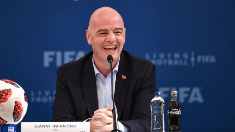 FIFA President Gianni Infantino Would Welcome Joint Korea Bid for 2023 Women's World Cup