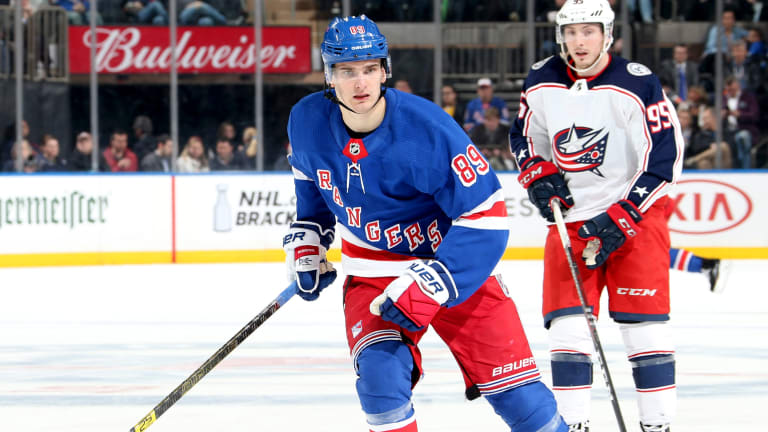 Rangers Re-Sign RFA Pavel Buchnevich to Two-Year Deal