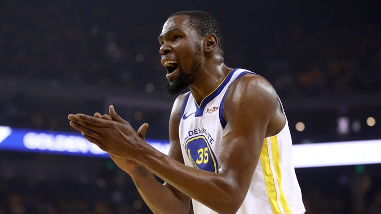 Kevin Durant Says He Uses Social Media Because He's 'Qualified'