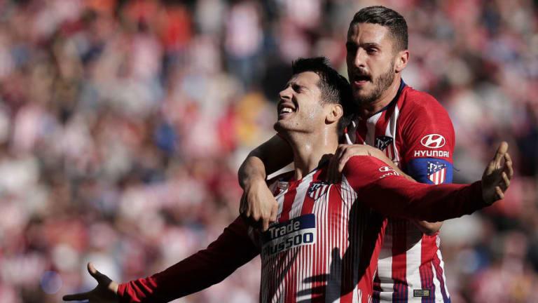 El 1x1 del Atlético de Madrid en el estreno goleador de Morata