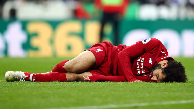 Mohamed Salah's Apparent Head Injury Casts Shadow Over Liverpool's Crucial Win Over Newcastle