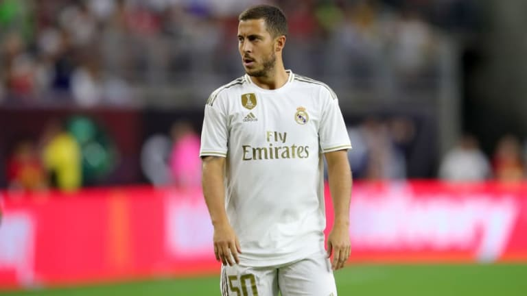 Eden Hazard Arrived at Real Madrid 7kg Overweight as Florentino Perez Begins Doubting Winger