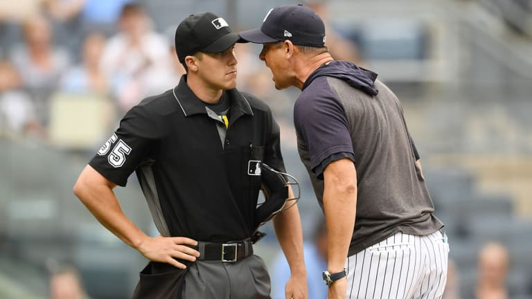 Ranking The Wonderful Moments in Aaron Boone's Epic Tirade Against Umpire