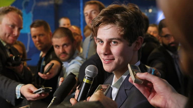 Undersized Jack Hughes Stands Out as Top NHL Draft Prospect