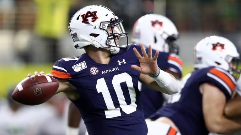 Auburn's Stunning Win Over Oregon Punctuates Weird Weekend of College Football
