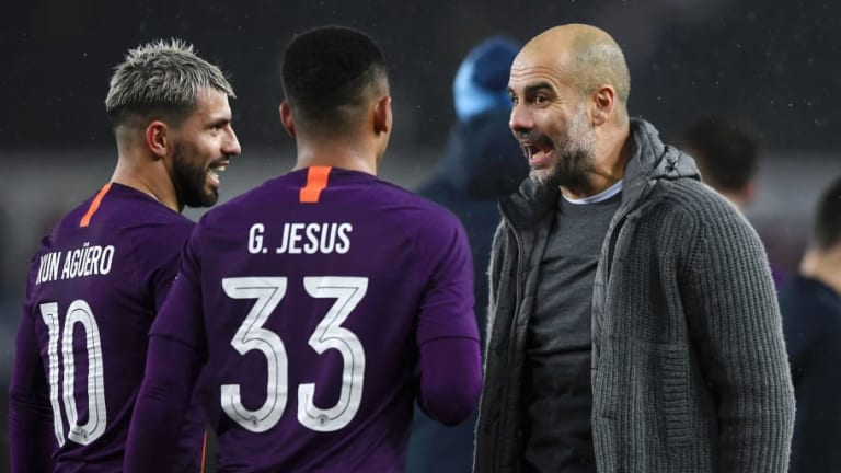 Twitter Reacts as Manchester City Survive FA Cup Scare to Scrape Past Swansea