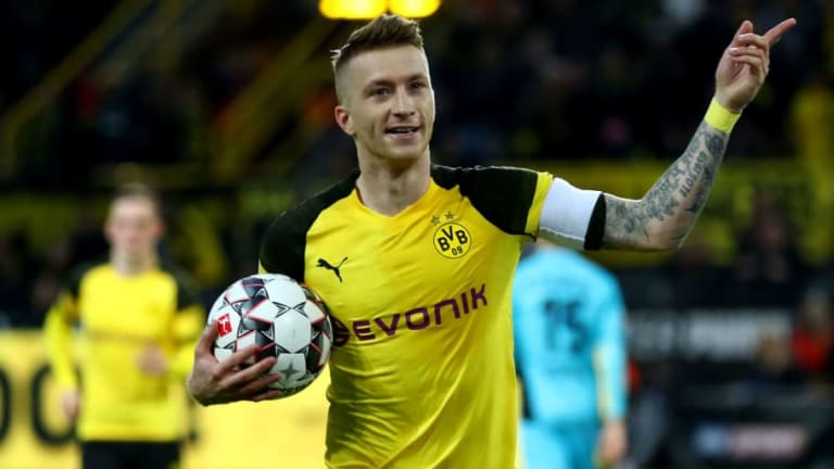 Marc-Andre ter Stegen Claims 'Awesome' Marco Reus Would Have Been Superstar at Barcelona