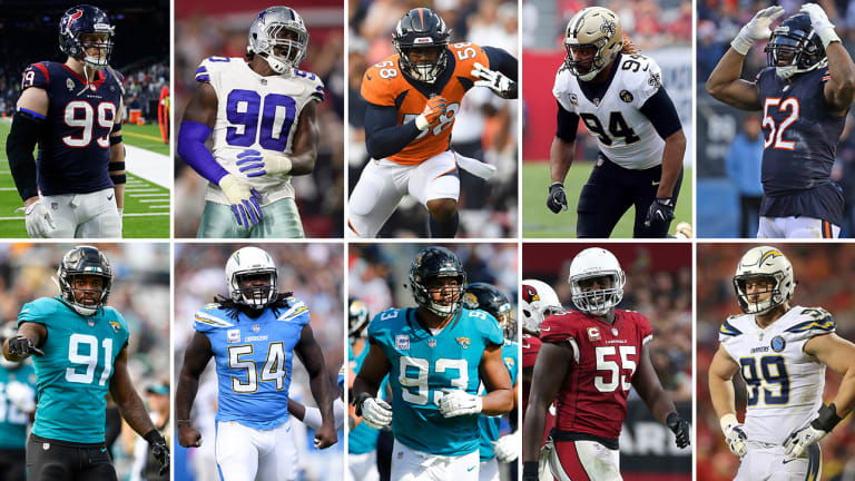 The NFL's Top 10 Edge Defenders for 2019 | The MMQB NFL Podcast