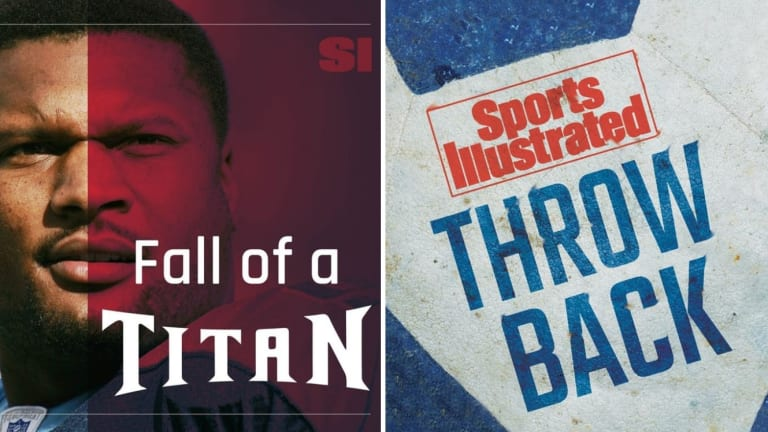 SI's 'Fall of a Titan' and 'Throwback' Make Esquire's List of 15 Best Sports Podcast