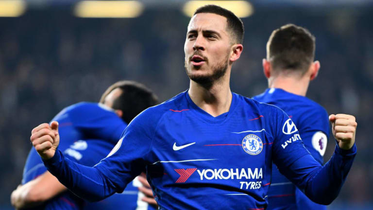Maurizio Sarri Hints 'Tired' Eden Hazard Will Be Rested for Europa League Clash With Slavia Prague