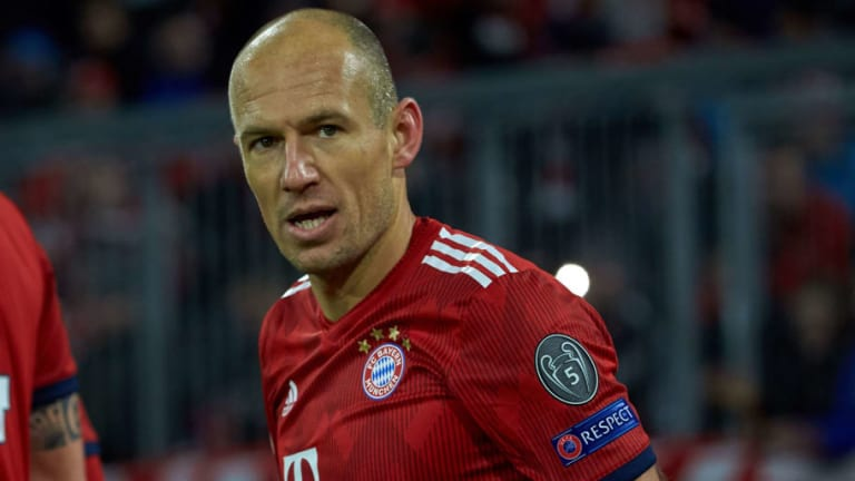 Arjen Robben Frustrated at Injury Struggles After 'Trying Everything' to Remain Healthy