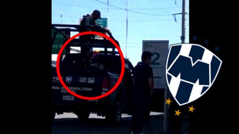 Policía de San Luis detiene a aficionado de Rayados por supuesta reventa de boletos