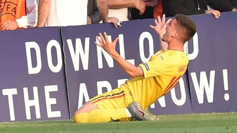 Barcelona 'in Talks' to Sign Romania Under-21 Star Ianis Hagi