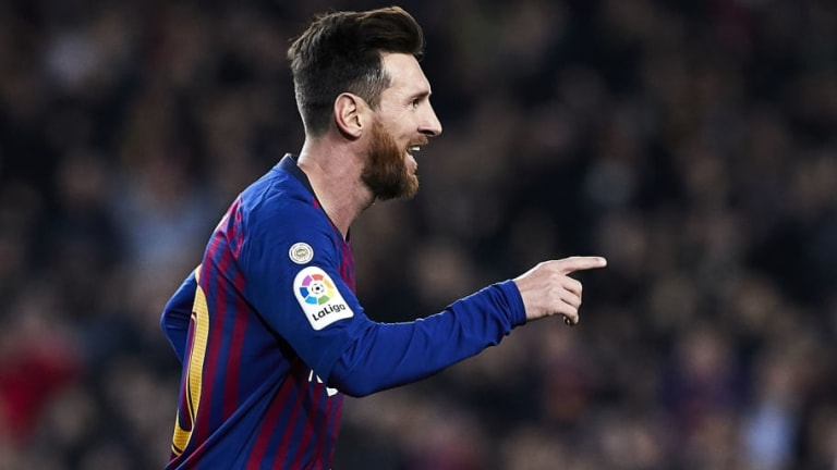 El Community Manager de la Roma pide el fichaje de Messi por Twitter