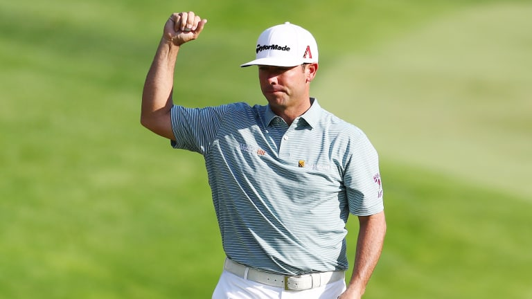 Chez Reavie Holds Off Bradley, Sucher for First Win in 11 Years
