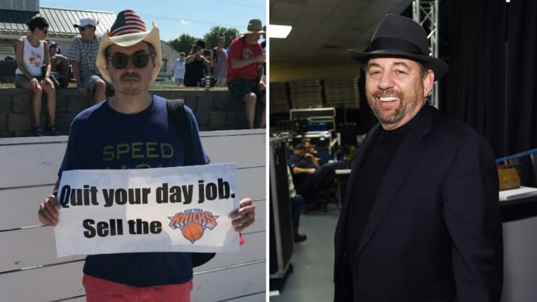 Friday's Hot Clicks: Thin-Skinned Knicks Owner Also Kicked Fan Out of Music Festival