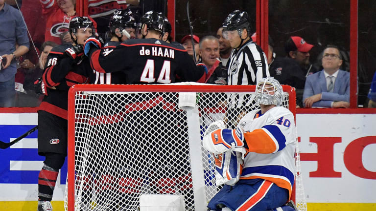 Swept Up in the Moment, Islanders Suffer Bittersweet Ending to Season