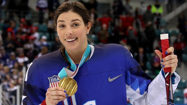 Fresh Off a Gold Medal, Hilary Knight Feels Good About the Future of Women's Hockey