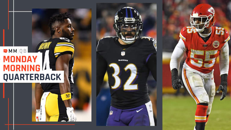 Antonio Brown, Eric Weddle Are on the Move As the New League Year Approaches