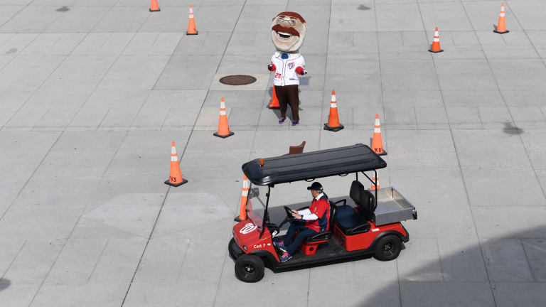 My Struggle: What Happened When I Tried to Drive the Washington Nationals Bullpen Cart