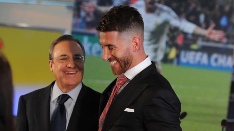 """La bronca entre Florentino y Sergio Ramos en el partido frente al Ajax: """"Me pagas y me voy"""""""