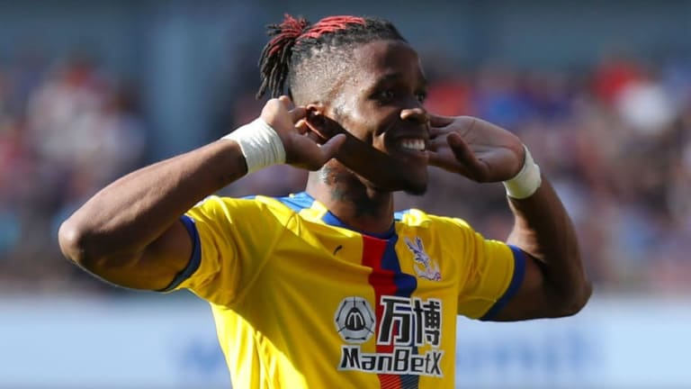 Wilfried Zaha Hands in Transfer Request at Crystal Palace After Everton Bid Rejected