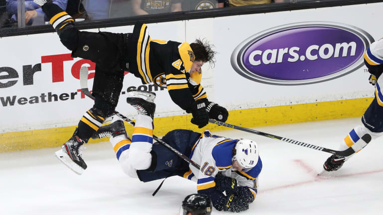Tuesday's Hot Clicks: This Torey Krug Shift Is Stanley Cup Finals Hockey at Its Finest
