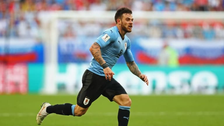 Nahitan Nandez Eyed by Newcastle and Leeds as Agent Reveals Talks With 'Many Teams'