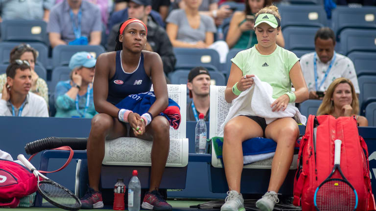 Team 'McCoco' Is Out of the US Open After a Drubbing by Azarenka and Barty