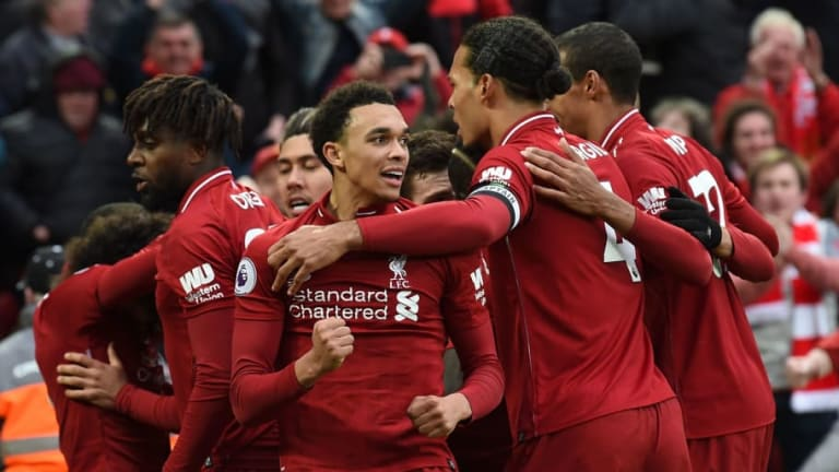 Liverpool's Record-Breaking Unbeaten Run at Home Proves Impact Anfield Has on Reds