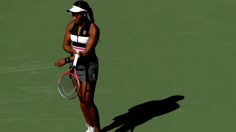 Sloane Stephens Quickly Ousted in Indian Wells While Simona Halep, Other Top Players Move on