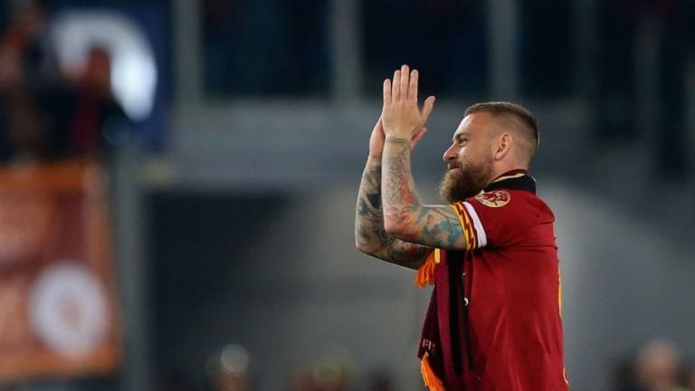 La emotiva carta de despedida de Daniele de Rossi tras su ultimo partido con la Roma