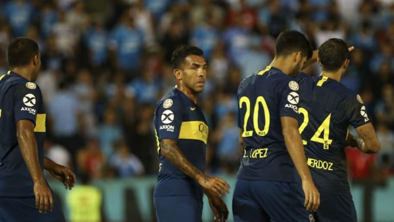 La formación de Boca para recibir a Atlético Tucumán