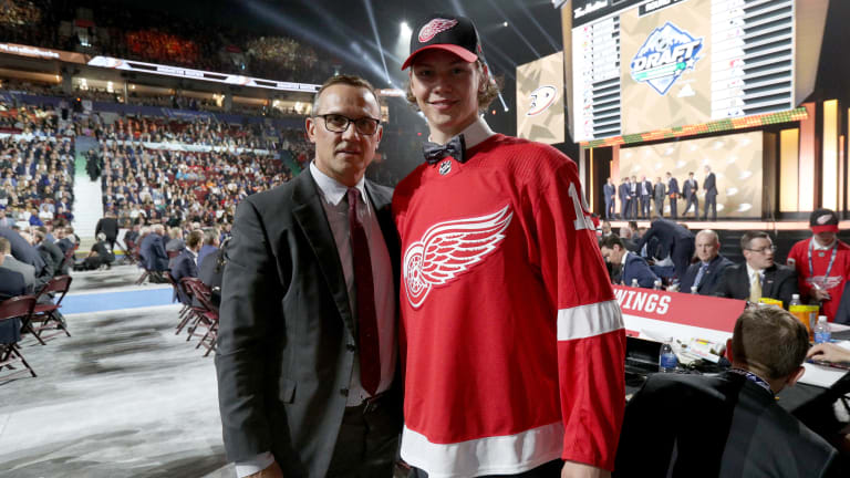 Steve Yzerman Puts Stamp on First Detroit Draft With Unexpected Pick