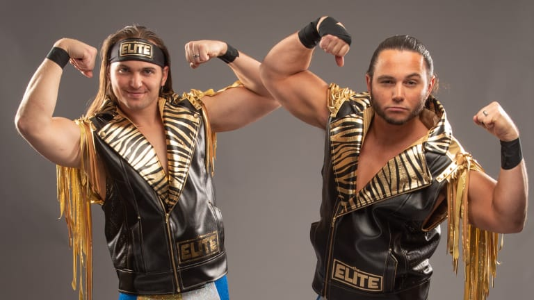 Image result for young bucks aew