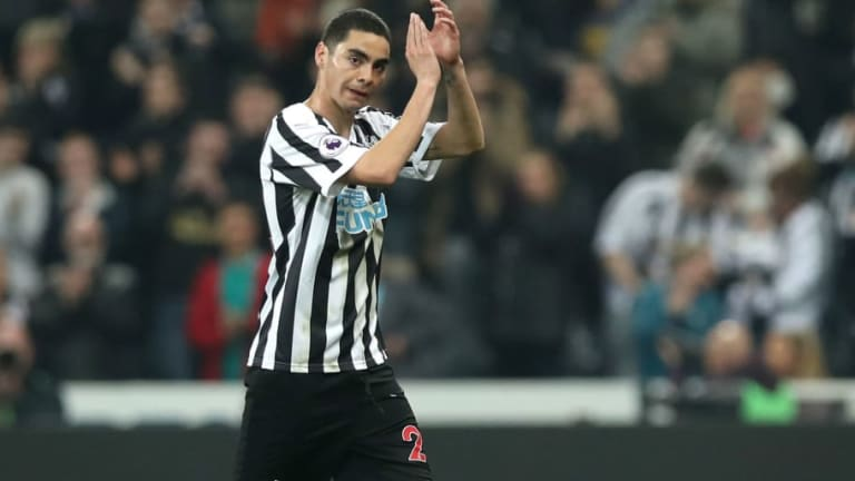 Miguel Almiron Admits He Was 'Ecstatic' When He Heard Rafa Benitez Wanted Him to Join Newcastle