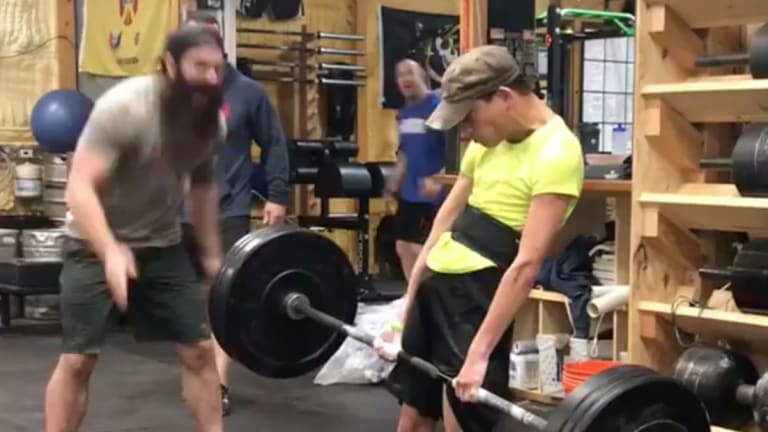 Watch: Athlete With Cerebral Palsy Deadlifts 200 Pounds