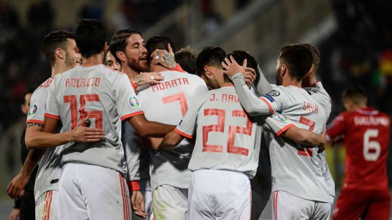 El 1x1 de los jugadores de España en la victoria sobre Malta por 0-2