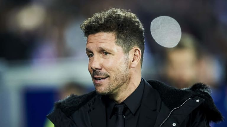 Diego Simeone Says That Atletico Madrid Must 'Keep Fighting for La Liga Until the End'
