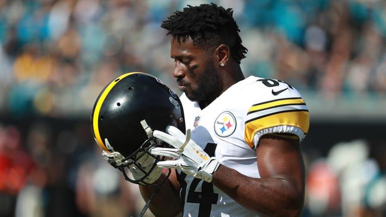 The Antonio Brown-Steelers Feud Barrels Toward a Conclusion