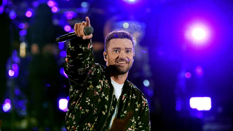 Watch: Justin Timberlake Sinks Half-Court Shots at Grizzlies' Practice Facility