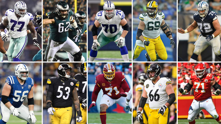 The NFL's Top 10 Offensive Linemen for 2019 | The MMQB NFL Podcast