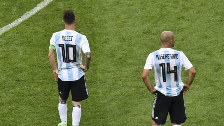 "Mascherano utilizó una foto de Ginóbili para ironizar acerca del ""club de amigos"" de Argentina"